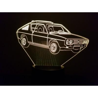 LAMPE 3D - RENAULT R17 -