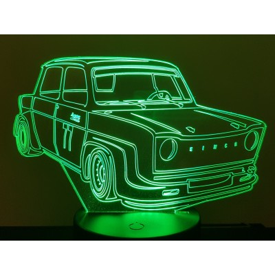 LAMPE 3D - SIMCA RALLYE 2 -