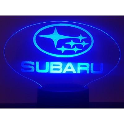 LAMPE 3D - LOGO SUBARU -