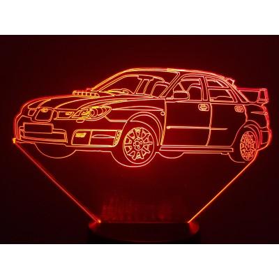 LAMPE 3D - SUBARU IMPREZA...