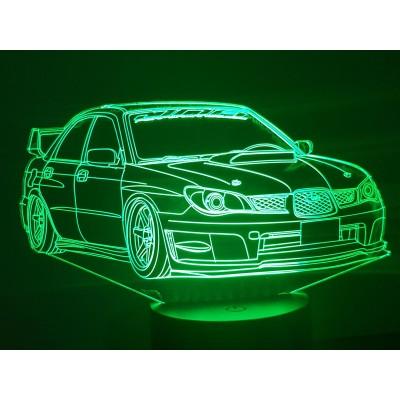 LAMPE 3D - SUBARU -