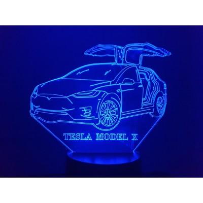LAMPE 3D - TESLA Model X -