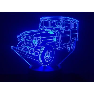 LAMPE 3D - TOYOTA  BJ40 -