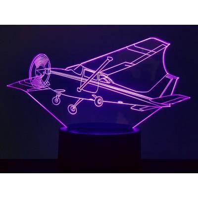 LAMPE 3D - AVION CESSNA -
