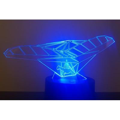 LAMPE 3D - DELTAPLANE -