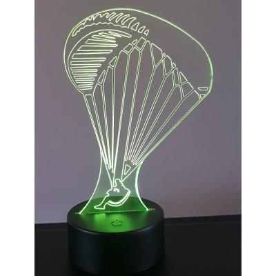 LAMPE 3D - PARAPENTE -