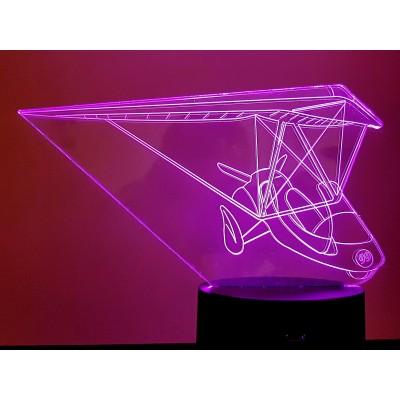 LAMPE 3D - ULM pendulaire -