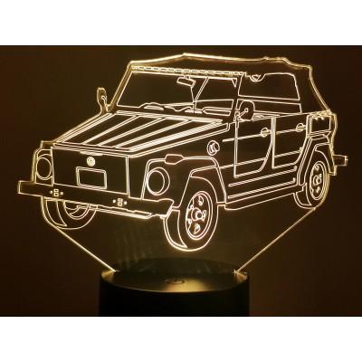 LAMPE 3D - VOLKSWAGEN  181 -