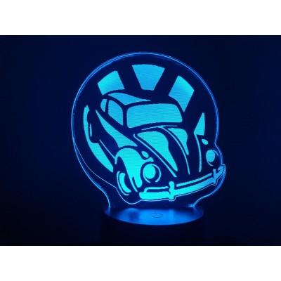 LAMPE 3D - VOLKSWAGEN  COX...