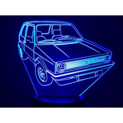 LAMPE 3D - VOLKSWAGEN  GOLF...