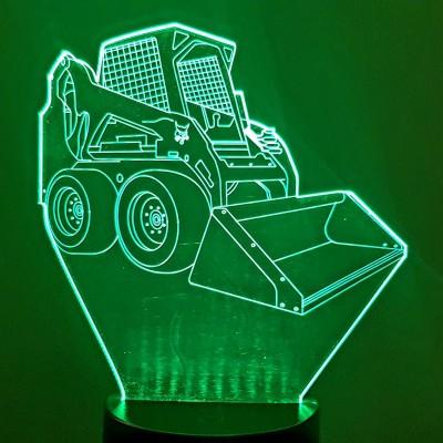 LAMPE 3D - BOBCAT -