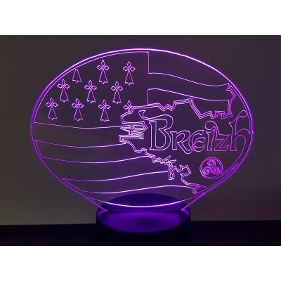 LAMPE 3D - BRETAGNE -