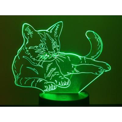 LAMPE 3D - CHAT -