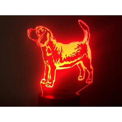 LAMPE 3D - BEAGLE -