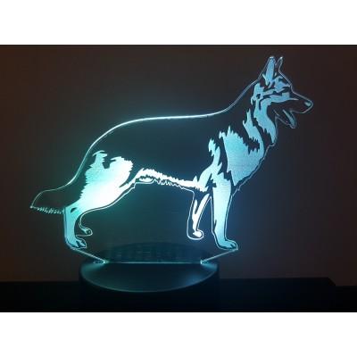 LAMPE 3D - BERGER ALLEMAND -