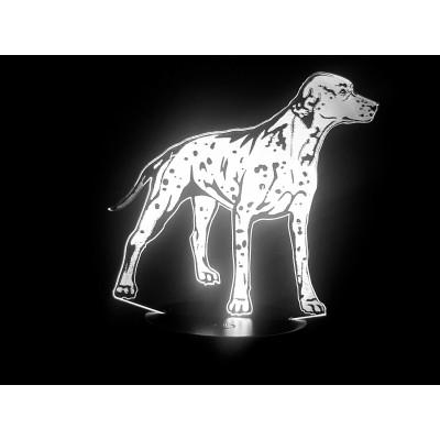 LAMPE 3D - DALMATIEN -