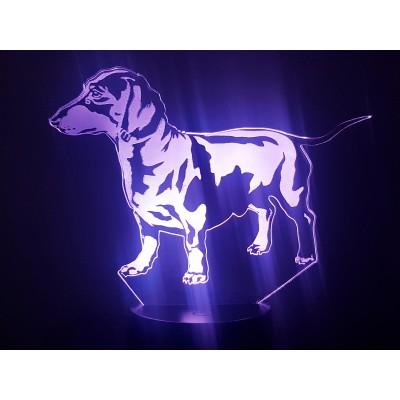 LAMPE 3D - TECKEL -