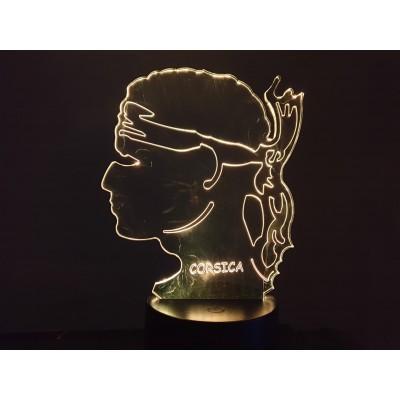 LAMPE 3D - CORSE 1-