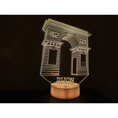 LAMPE 3D - DIJON Place DARCY -
