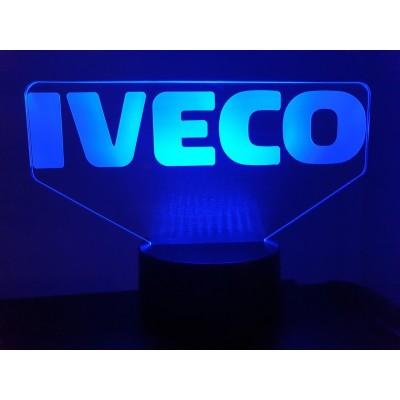 LAMPE 3D - LOGO  IVECO -