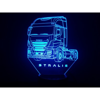 LAMPE 3D - IVECO  STRALIS -