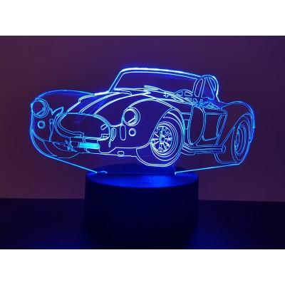 LAMPE 3D - AC COBRA -