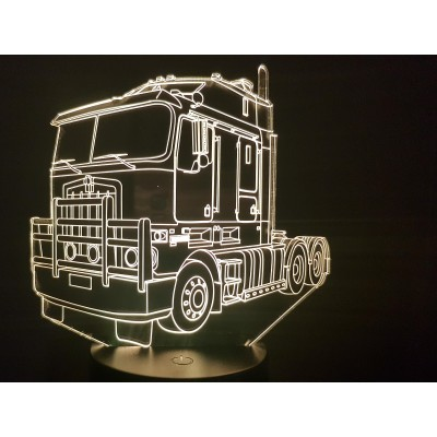 LAMPE 3D - KENTWORTH -