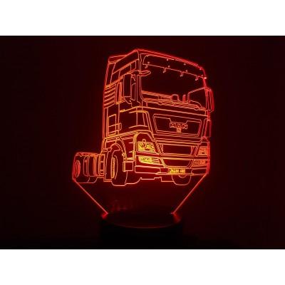 LAMPE 3D - MAN -
