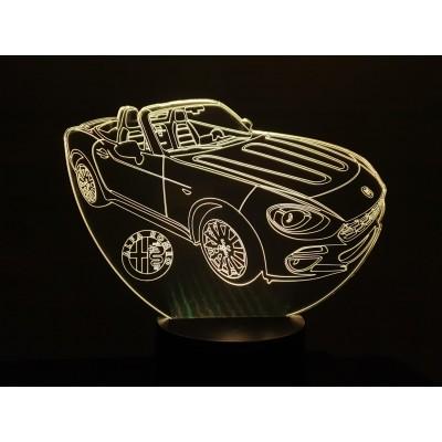 3D LAMP - ALFA SPIDER -
