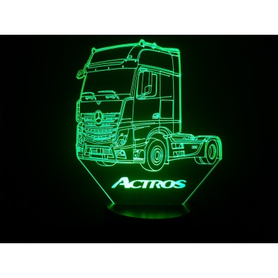 LAMPE 3D - MERCEDES  ACTROS -