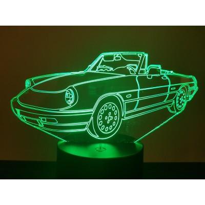 LAMPE 3D - ALFA SPIDER 1990 -