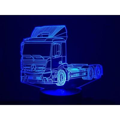 LAMPE 3D - MERCEDES (2) -