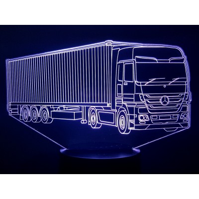 LAMPE 3D - MERCEDES (3) -