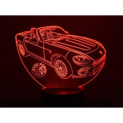 LAMPE 3D - ALFA SPIDER -