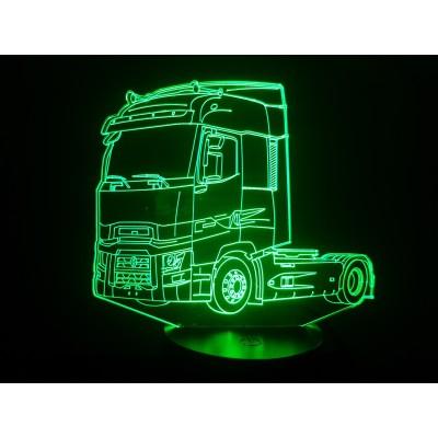 LAMPE 3D - RENAULT MAGNUM...