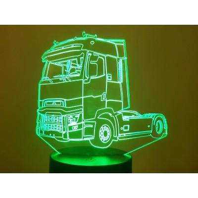 LAMPE 3D - RENAULT  T -