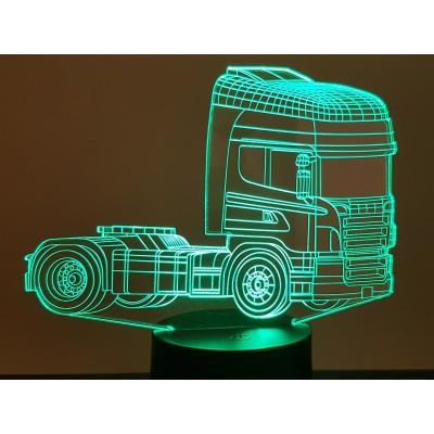 LAMPE 3D - SCANIA 1 -