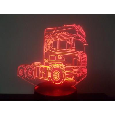 LAMPE 3D - SCANIA 2 Topline -