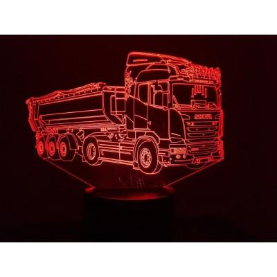 LAMPE 3D - SCANIA 4 -