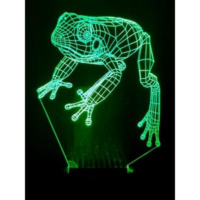 LAMPE 3D - GRENOUILLE -
