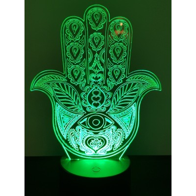 LAMPE 3D - HAMSA -