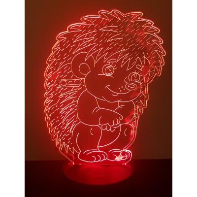 LAMPE 3D - HERISSON -