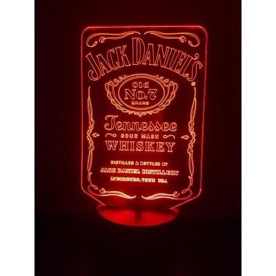 LAMPE 3D - JACK DANIEL'S -