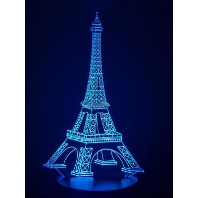 LAMPE 3D - TOUR EIFFEL -