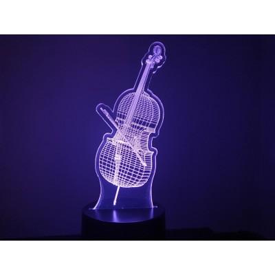 LAMPE 3D - VIOLONCELLE -