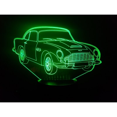 LAMPE 3D - ASTON MARTIN  DB5 -