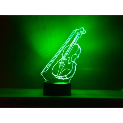 LAMPE 3D - VIOLON -