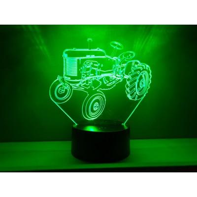 LAMPE 3D - MASSEY HARRIS -...