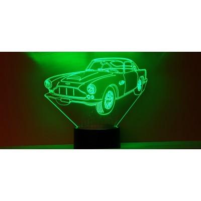 LAMPE 3D - ASTON MARTIN  DB4 -