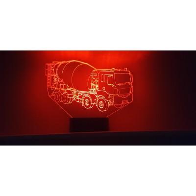 LAMPE 3D - TOUPIE -
